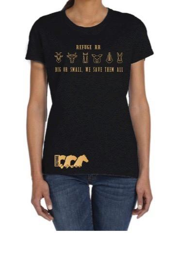 T-Shirt Black Logo A