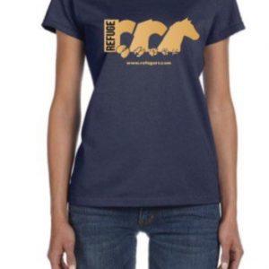 T-Shirt Logo Bleu B