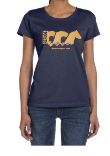 T-Shirt Blue Logo B