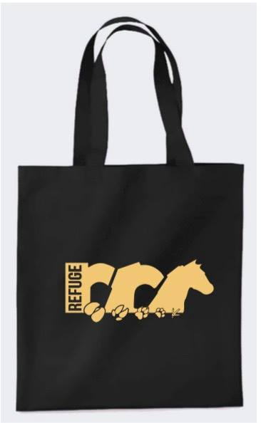 Tote bag logo B Black